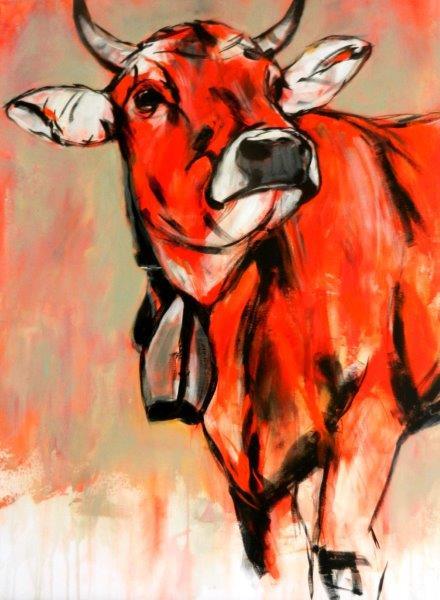 Kuh (rot)