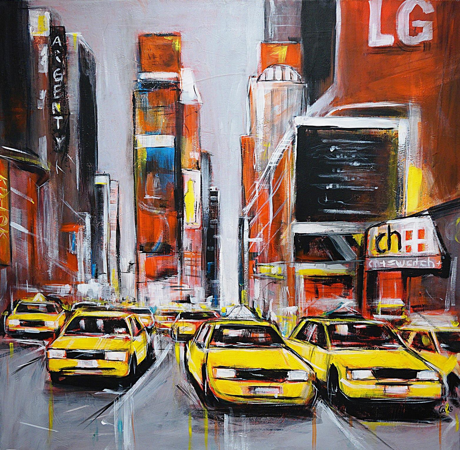 yellow cabs, NY