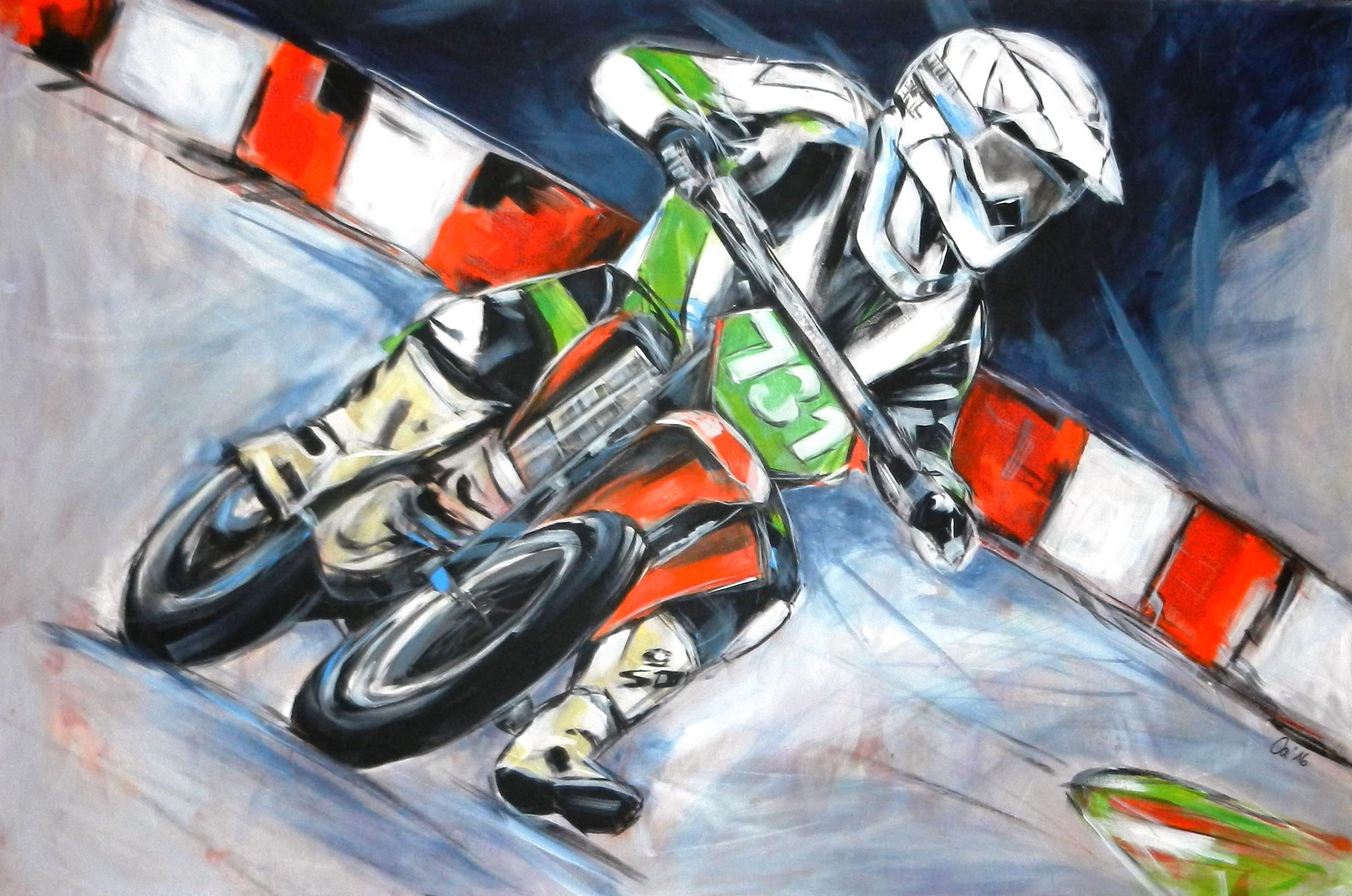 Motocrossfahrer (Auftragsarbeit)