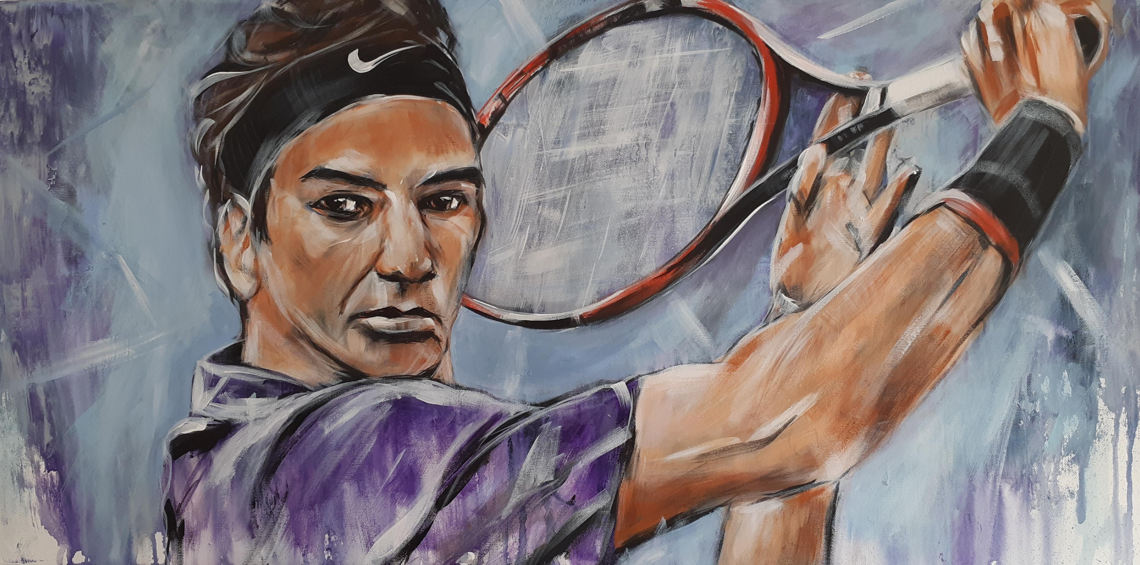 RF, Roger Federer