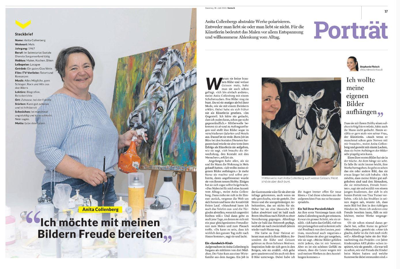Zeitungsbericht Liewo 19.07.2020